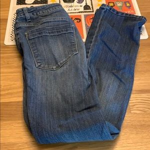 Vera Wang Cropped Jeans